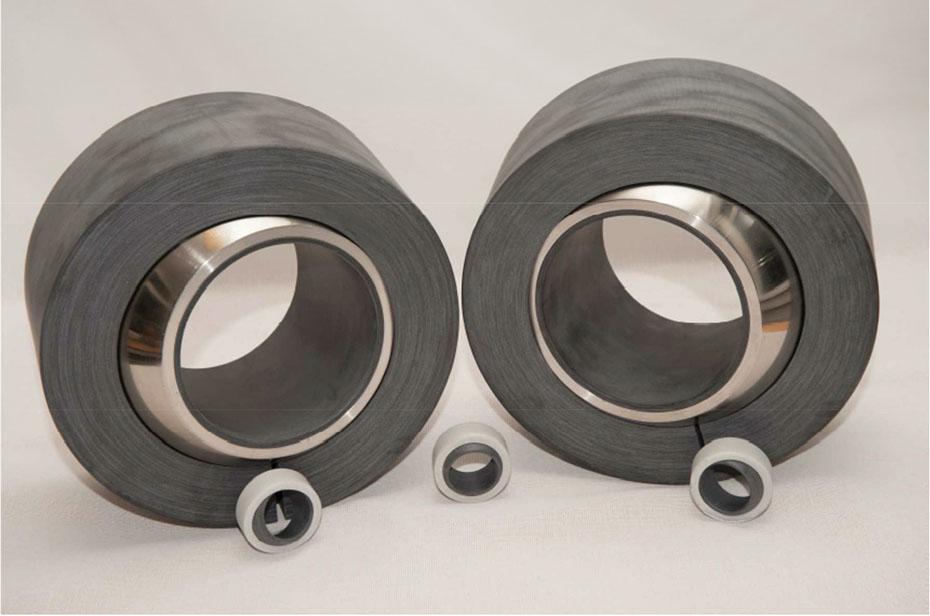 Composite spherical bearing and radial plan bearing_2